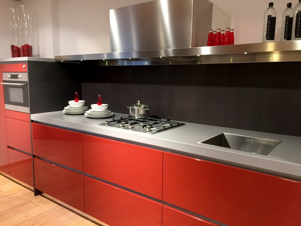 Showroom keuken Radius greeploos