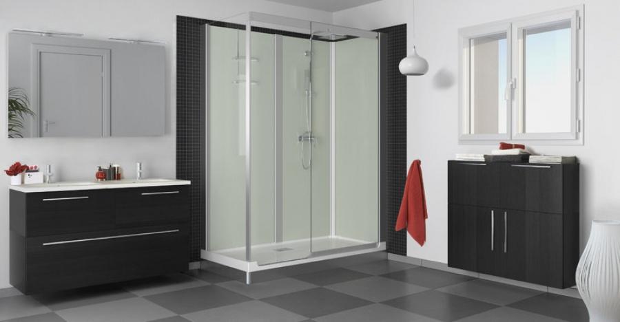 Inloopdouche Met Ligbad : Bad eruit douche erin! vitale badkamer hoefnagel tegels